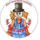 The Magical Scarecrows Kids Who Read Succeed logo by Lynn Santer