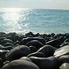 sea and stones by sailing