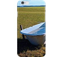 Outdoor pool | conceptual photography iPhone Case/Skin