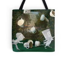 Mad Tea Party: The aftermath Tote Bag