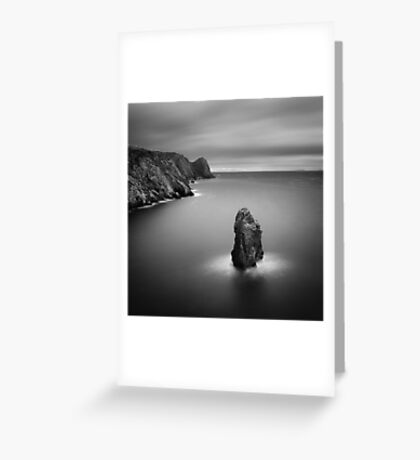 Donegal Sea Stack Greeting Card