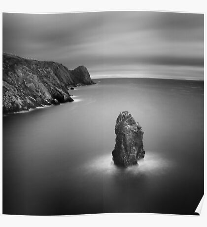 Donegal Sea Stack Poster