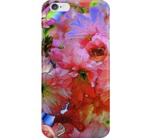 pinkadelic blooms, spring blossoms, bold colors iPhone Case/Skin
