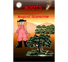 Boots - the Spanish Magical Scarecrow Photographic Print