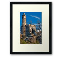 New York Infantry Memorial Framed Print
