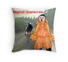 Jaffa - The Israeli Magical Scarecrow Throw Pillow