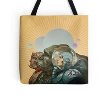 Heroes of the Solar System Tote Bag