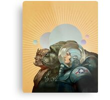 Heroes of the Solar System Metal Print