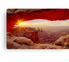 Mesa Arch Sunrise. Canvas Print
