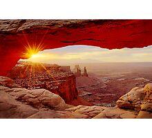 Mesa Arch Sunrise. Photographic Print