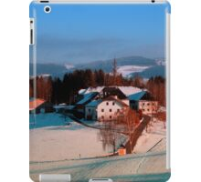 Village scenery in winter wonderland II | landscape photography iPad Case/Skin