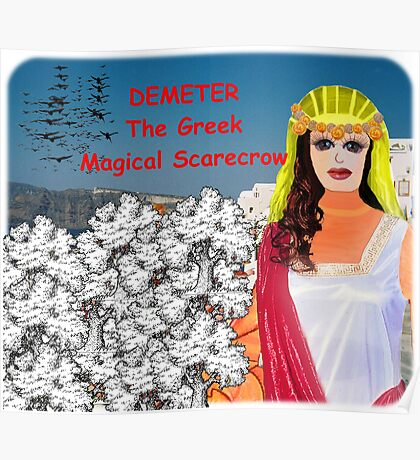 Demeter - The Greek Magical Scarecrow Poster