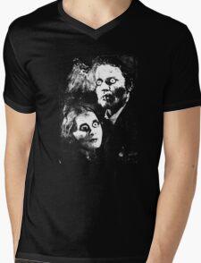 Horror Film Victims Mens V-Neck T-Shirt