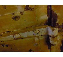 door detail with latch Photographic Print
