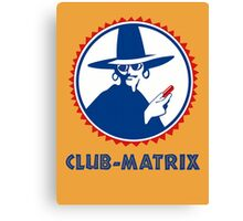 Club-Matrix Canvas Print