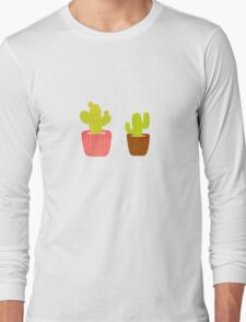Cactus lover Long Sleeve T-Shirt