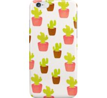 Cactus lover iPhone Case/Skin