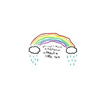 You Can't Have A Rainbow Without A Little Rain by interstellarsky