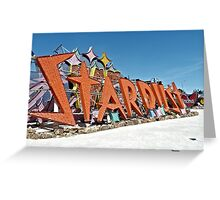 Stardust Sign Greeting Card