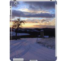 Amazing winter wonderland sundown | landscape photography iPad Case/Skin