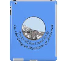 Treaty Hill in Cochise's Dragoon Mtns of Arizona iPad Case/Skin