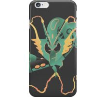 pokemon mega rayquaza dragon anime shirt iPhone Case/Skin
