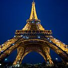 The Eiffel Tower by John Miner