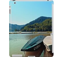 Boats in the harbour III | waterscape photography iPad Case/Skin