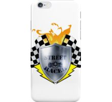 street racer iPhone Case/Skin