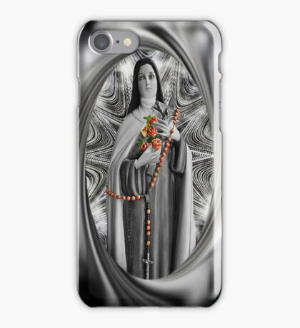 "✿♥‿♥✿ST. THERESE OF LISIEUX-ALSO KNOWN AS ""LITTLE FLOWER"" IPHONE CASE ✿♥‿♥✿ iPhone Case/Skin"