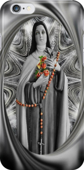 """✿♥‿♥✿ST. THERESE OF LISIEUX-ALSO KNOWN AS """"LITTLE FLOWER"""" IPHONE CASE ✿♥‿♥✿ by ✿✿ Bonita ✿✿ ђєℓℓσ"""