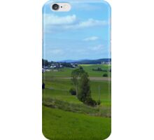 Old tree, country road and a cloudy sky | landscape photography iPhone Case/Skin