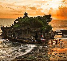 Tanah Lot Temple - Bali by John Miner