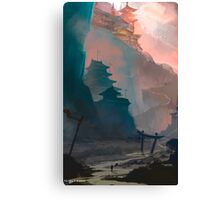 Project Kunai, Environment concept art. Canvas Print