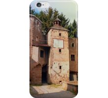 The ruins of Reichenau castle | architectural photography iPhone Case/Skin