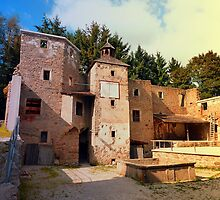 The ruins of Reichenau castle   architectural photography by Patrick Jobst