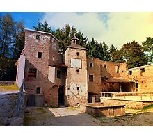 The ruins of Reichenau castle | architectural photography Photographic Print