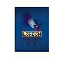 Cthulhu Britannica London Investigator's Guide Art Print