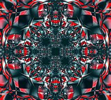 red dragon abstract by filippobassano