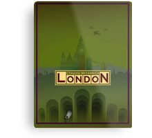 Cthulhu Britannica London Keepers Guide Metal Print