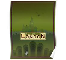 Cthulhu Britannica London Keepers Guide Poster
