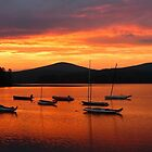 sunset in new hampshire USA by mando89