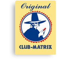 Original Club-Matrix Canvas Print