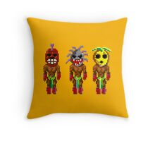 Monkey Island's Cannibals (Monkey Island) Throw Pillow