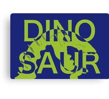 Dinosaur Bite Canvas Print