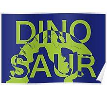 Dinosaur Bite Poster