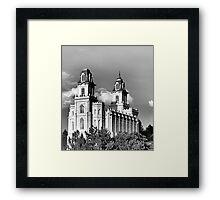 Manti, Utah LDS Temple Framed Print
