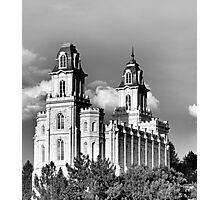 Manti, Utah LDS Temple Photographic Print
