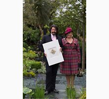 laurence llewelyn bowen with his wife at Chelsea Flower show Unisex T-Shirt