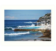 Bondi Ocean pool Art Print